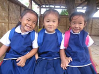 children at Baan Jai Dee.